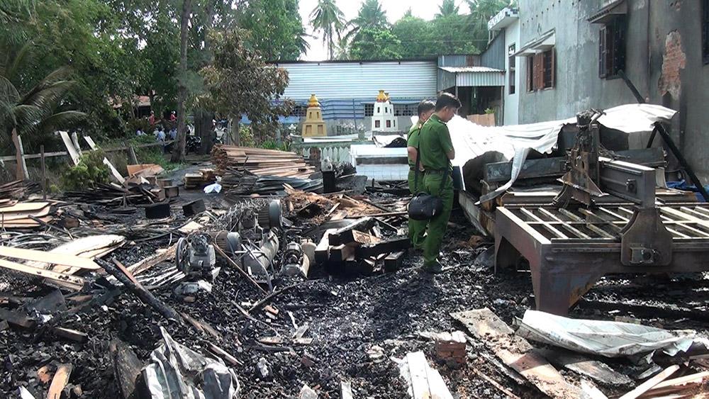 Photo of An Giang: Hỏa hoạn thiêu rụi trại mộc ở Long Điền A